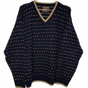 John Rich and Bros WOOLRICH V-Neck Mens Sweater